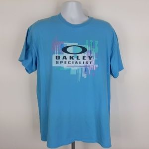 Port And Company Men's T-shirt Oakley Specialist S